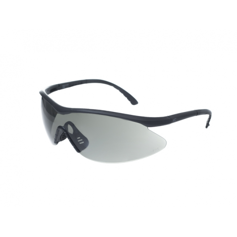 EDGE tactical OCCHIALI BALISTICI EYEWEAR FASTLINK - VAPOR SHIELD ANTI-FOG CLEAR NERI / SMOKE G15 - EDGE tactical