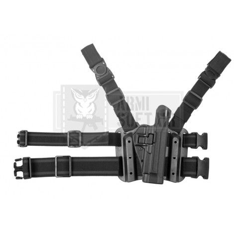 BLACKHAWK FONDINA COSCIALE SERPA HOLSTER BERETTA 92/96/M9/M9A1 NERA BLACK - BLACKHAWK