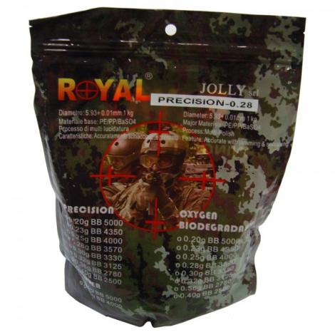 ROYAL PALLINI BIANCO WHITE 0.28 g 1 Kg - ROYAL