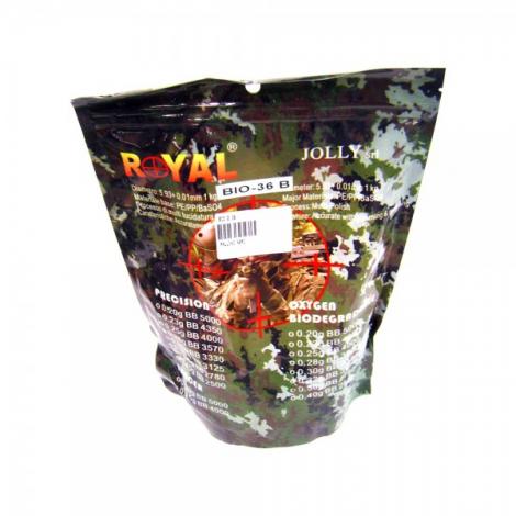 ROYAL PALLINI PRECISION BIO NERI BLACK 0.36 g 1 Kg - ROYAL