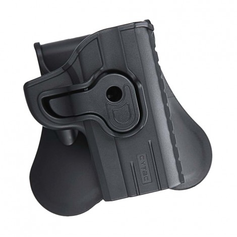 "CYTAC FONDINA IN POLIMERO DEFENDER HOLSTER 1911 3 "" NERA - CYTAC"