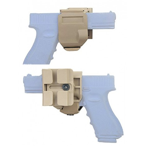FONDINA GUNCLIP PER GLOCK TAN - MADE IN CHINA