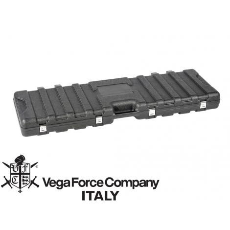 VFC SACCA BORSA PORTA FUCILI RIGIDA HARD GUN CASE WITH SPONGE DIM. 135X40X130 NERO BLACK - VFC VegaForceCompany