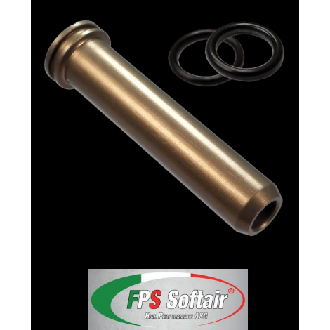 FPS nozzle Spingipallino in ergal per serie A&K M60 - MK43 con or di tenuta (SPM60E) - FPS softair