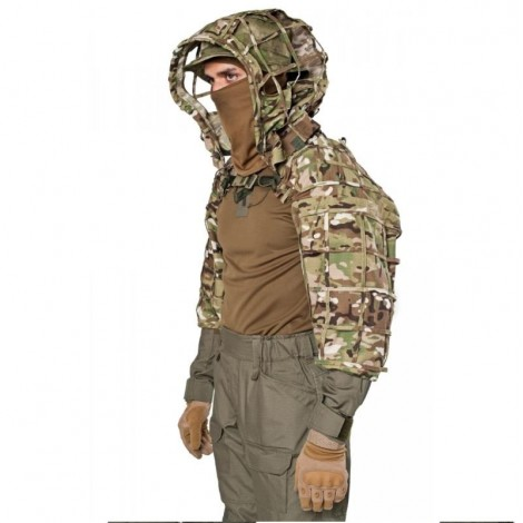 GIENA TACTICS GHILLIE VIPERHOOD SCORPION - MULTICAM MC - GIENA TACTICS
