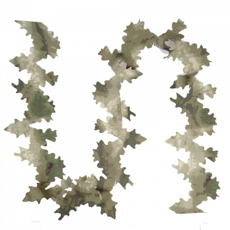 GIENA TACTICS GHILLIE DISGUISE ELEMENTS CAMO LEAVES FOGLIE 3D ATACS FG - GIENA TACTICS