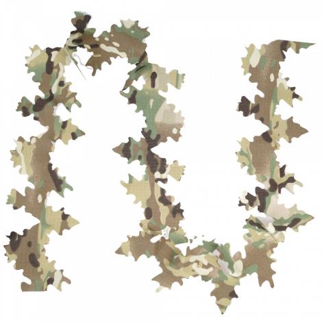 GIENA TACTICS GHILLIE DISGUISE ELEMENTS CAMO LEAVES FOGLIE 3D MULTICAM MC - GIENA TACTICS