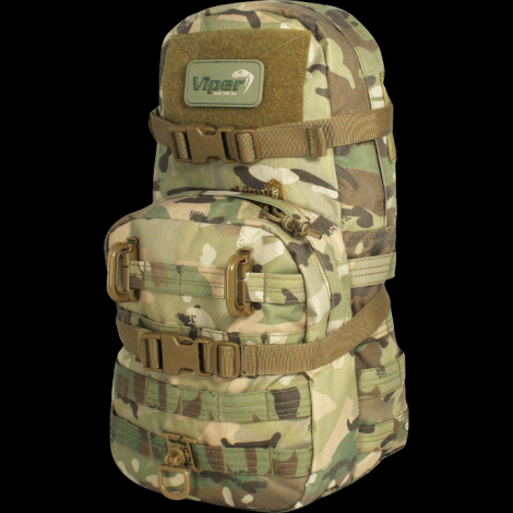 VIPER ZAINETTO MINI MAP ATTACCO MOLLE MODULARE ONE DAY MULTICAM VCAM - VIPER tactical
