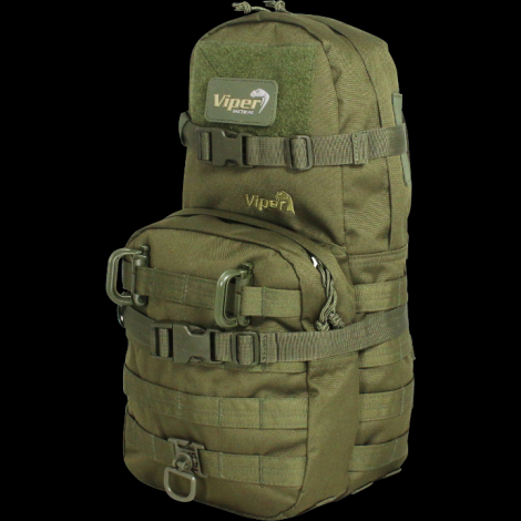 VIPER ZAINETTO MINI MAP ATTACCO MOLLE MODULARE ONE DAY VERDE GREEN - VIPER tactical