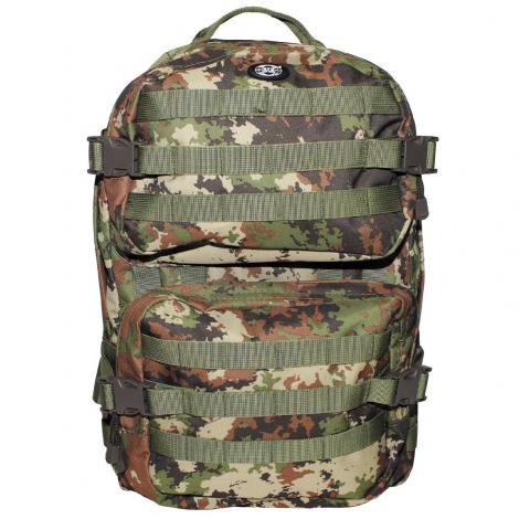 MFH ZAINO MILITARE ESERCITO ITALIANO VEGETATO MOLLE US Backpack Assault II - MFH