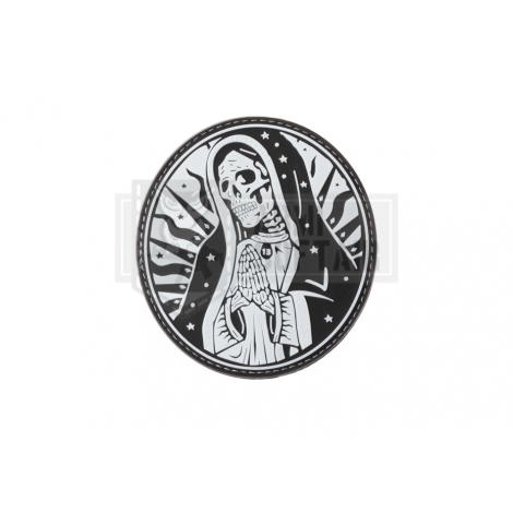 PATCH PVC SANTA MUERTE MEXICO DRUG CARTEL SWAT W / BK -