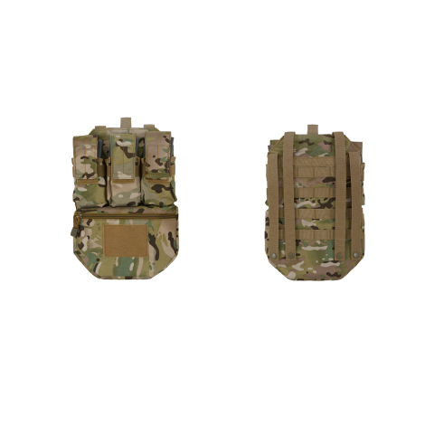 8 FIELDS ASSAULT BACK PANEL PANNELLO POSTERIORE TATTICO CARICATORI MC MULTICAM - 8 FIELDS