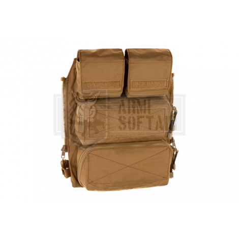 CRYE PRECISION by zShot AVS JPC POUCH Zip-on Panel 2.0 VEST BACK ASSAULT PANEL COYOTE BROWN CB - CRYE PRECISION by Zshot