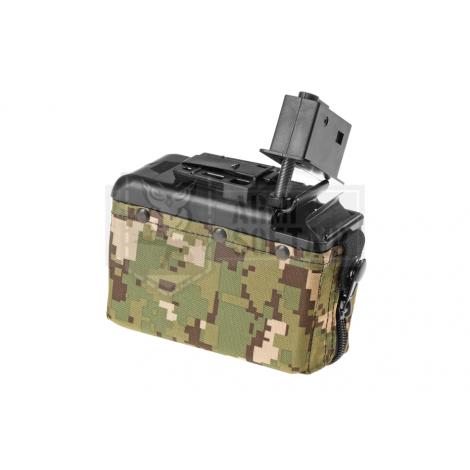 CA CLASSIC ARMY CARICATORE DRUM MINIMI M249 1200 bb PICCOLO AOR2 CAMO - CLASSIC ARMY