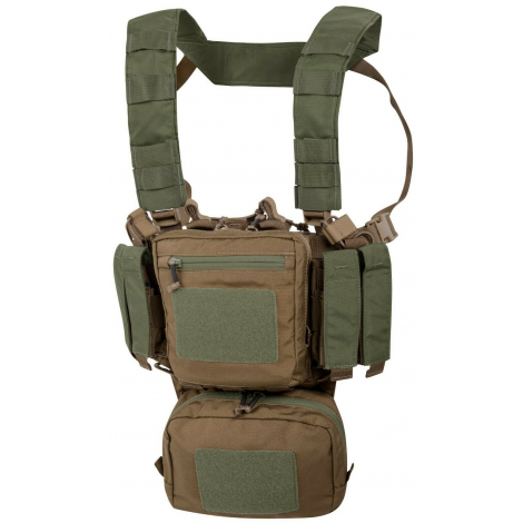HELIKON TATTICO TMR TRAINING MINI RIG CHEST RIG COYOTE / OLIVE GREEN A - HELIKON