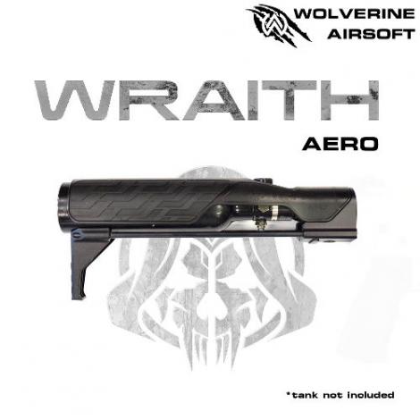 WOLVERINE MTW WRAITH AERO STOCK FOR MTW, INCLUDES STORM INBUFFER REGULATOR - WOLVERINE