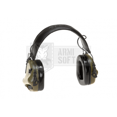 EARMOR by OPSMAN CUFFIE PROTETTIVE ATTIVE M31 MOD3 Electronic Hearing Protector FOLIAGE GREEN VERDI - EARMOR