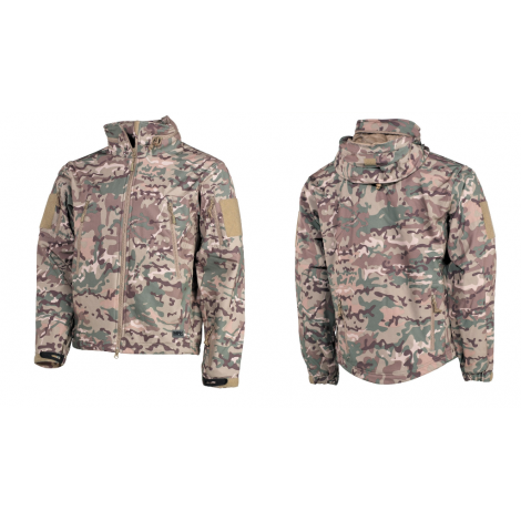 MFH GIACCA SOFT SHELL SCORPION PREMIUM MULTICAM MC - MFH