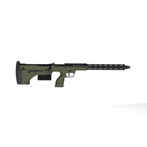 SILVERBACK fucile a molla SNIPER SRS A2 LUNGO (22 inches Barrel) Licensed by Desert Tech - OD GREEN VERDE - SILVERBACK