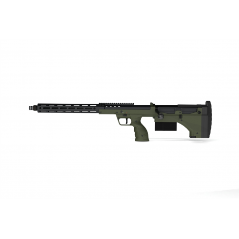 SILVERBACK fucile a molla SNIPER SRS A2 LUNGO (22 inches Barrel) Licensed by Desert Tech ( LEFT HAND - MANCINI )- OD GREEN VE...