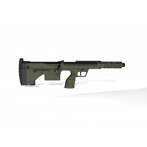 SILVERBACK fucile a molla SNIPER SRS A2 SPORT (16 inches Barrel) Licensed by Desert Tech - OD GREEN VERDE - SILVERBACK