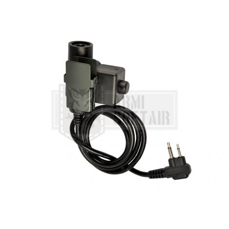 Z-TAC U94 PTT Motorola 2-Pin Connector - Z-TACTICAL