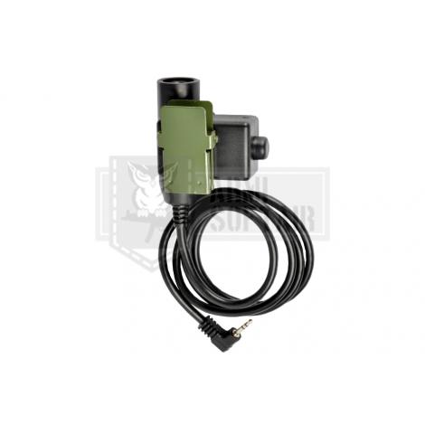 Z-TAC U94 PTT Motorola 1-Pin Connector - Z-TACTICAL
