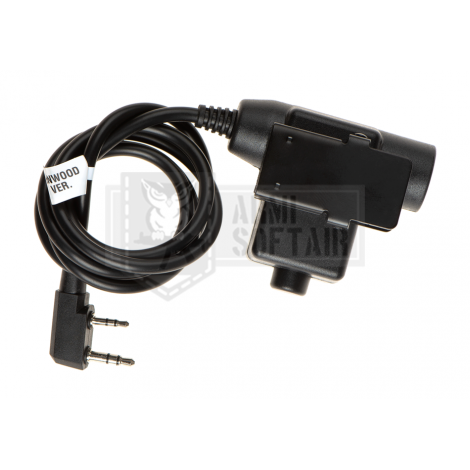Z-TAC U94 PTT Kenwood Connector - Z-TACTICAL