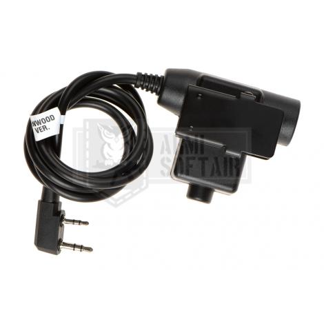 Z-TAC U94 PTT Kenwood Connector - Z-TACTICAL