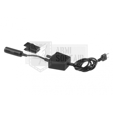 Z-TAC radio PUSH TO TALK E-Switch Tactical PTT ICOM Connector - Z-TACTICAL