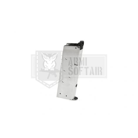 WE CARICATORE M1911 GBB PISTOLA GAS 15 bb ARGENTO SILVER - WE