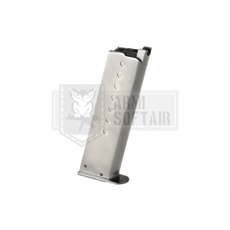WE CARICATORE P38 SILVER ARGENTO GBB PISTOLA GAS 15 bb - WE