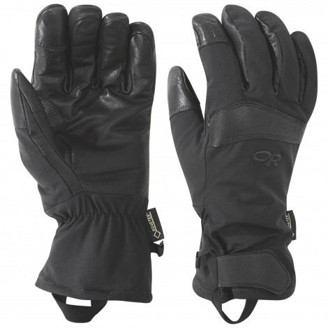 OR GUANTI OUTPOST SENSOR NERI BLACK - OUTDOOR RESEARCH