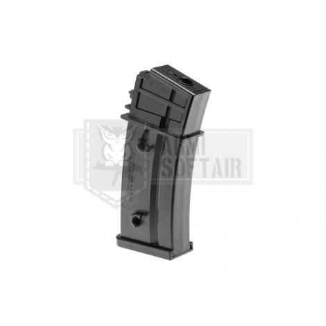 VFC CARICATORE MONOFILARE MID CAP G36C Sportsline DA 120 bb MAGAZINE NERO BLACK - VFC VegaForceCompany