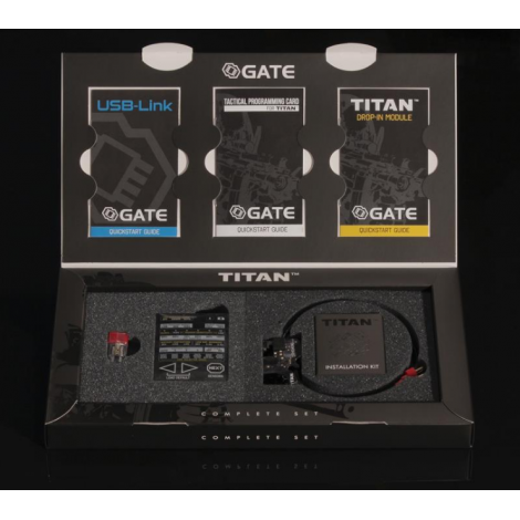 GATE MOSFET TITAN V2 M4 Complete Set REAR Wired POSTERIORE - GATE