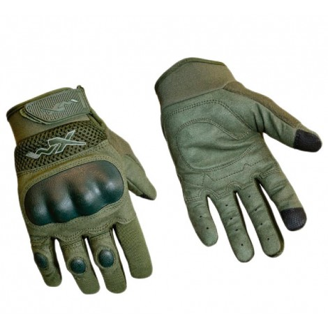 WILEY X GUANTI DURTAC SMARTTOUCH TACTICAL GLOVE VERDI FOLIAGE GREEN - WILEY X