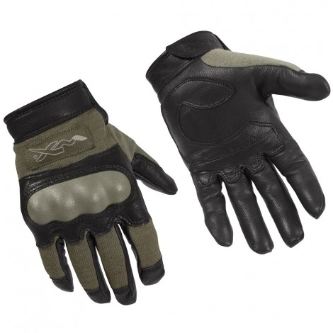 WILEY X GUANTI CAG-1 KNUCKLE TACTICAL GLOVE VERDI FOLIAGE GREEN - WILEY X