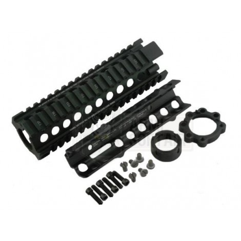 "BIG DRAGON DD MK18 STYLE RIS RAIL 7 "" inch NERO BLACK - BIG DRAGON"