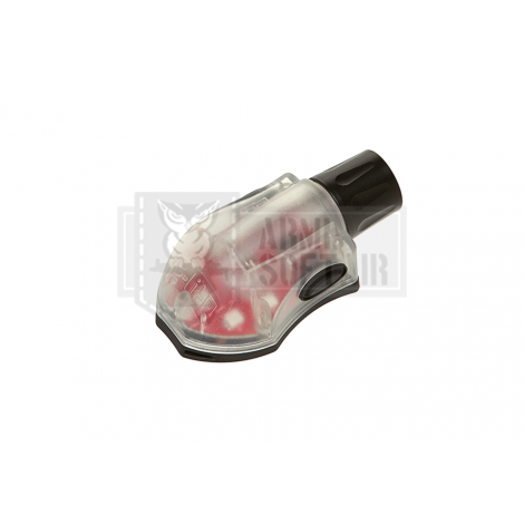 ELEMENT LUCE STROBO E-Lite Strobe Red ROSSA - FRAME NERO - ELEMENT
