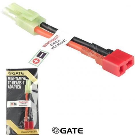 GATE ADATTATORE DA MINI-TAMIYA A DEANS-T (TC-DC) - GATE
