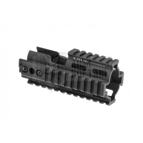 MADBULL PWS SCAR RAIL EXTENSION RIS CNC NERO BLACK - MADBULL