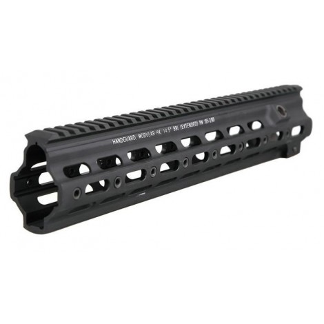 "BIG DRAGON SMR RAIL G STYLE 14.5 "" NERO BLACK PER UMAREX / VFC / WE HK416 - BIG DRAGON"