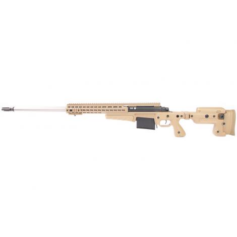 ARCHWICK MK13 MOD 7 BOLT ACTION A MOLLA Spring Sniper Rifle - TAN - ARCHWICK