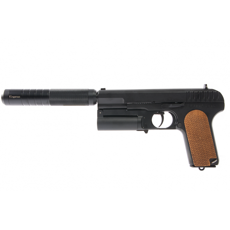 ShowGuns COLLECTOR KPS (Kingsman Pistol Shotgun with dummy silencer) PISTOLA FUCILE + SILENZIATORE - ShowGuns