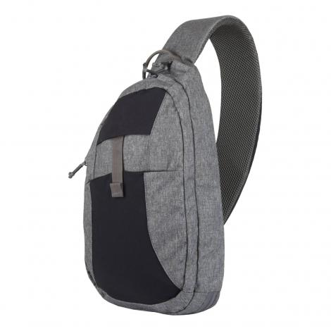 HELIKON ZAINO da spalla EDC Sling Backpack - Nylon Polyester Blend - Melange Grey - HELIKON
