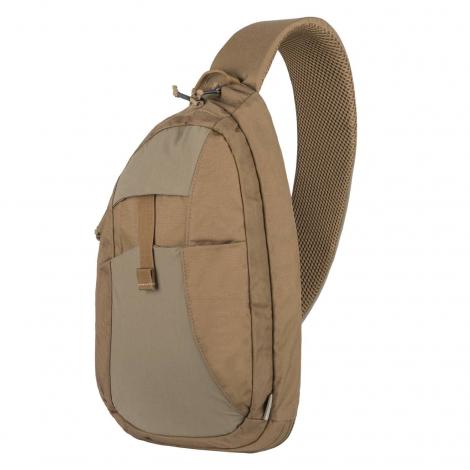 HELIKON ZAINO da spalla EDC Sling Backpack - Nylon Polyester COYOTE BROWN CB - HELIKON