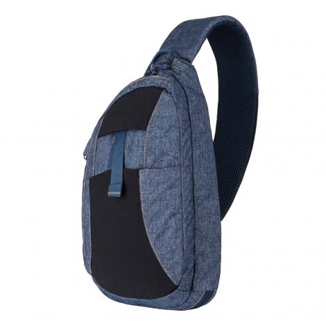 HELIKON ZAINO da spalla EDC Sling Backpack - Nylon Polyester Melange Blue - HELIKON