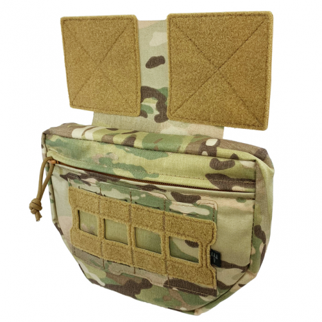 PITCHFORK SYSTEMS TASCA FRONTALE MOLLE Drop Down PROTECTOR FANNY MULTICAM MC CAMO - PITCHFORK SYSTEMS