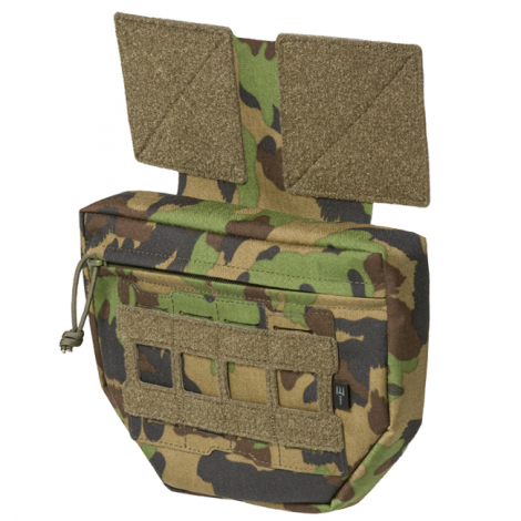 PITCHFORK SYSTEMS TASCA FRONTALE MOLLE Drop Down PROTECTOR FANNY SWISSCAMO WOODLAND - PITCHFORK SYSTEMS