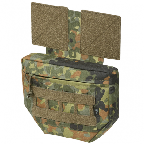 PITCHFORK SYSTEMS TASCA FRONTALE MOLLE Drop Down PROTECTOR FANNY FLECKTARN CAMO - PITCHFORK SYSTEMS